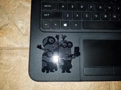 laptop minions