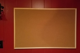 Bulletin Board before empty